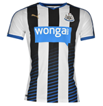2015-2016 Newcastle Home Football Shirt