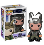 Thor 2  POP! Vinyl Figure Loki with Helmet 10 cm