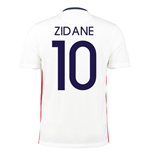 2015-16 France Away Shirt (Zidane 10)