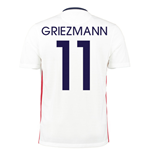 2015-16 France Away Shirt (Griezmann 11)
