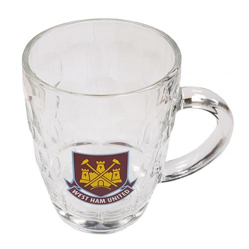 West Ham United F.C. Glass Tankard