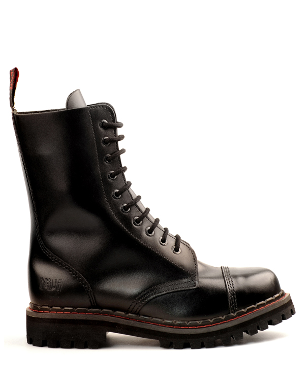 Aderlass 10-Eye Steel Boots Leather (Aderlass)