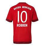 2015-16 Bayern Munich Home Shirt (Robben 10)