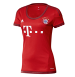 2015-2016 Bayern Munich Adidas Home Womens Shirt