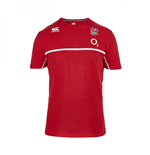 2015-2016 England Rugby Cotton Training Tee (Red)