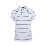 2015-2016 Ireland Stripe Polo Shirt (White)