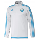 2015-2016 Marseille Adidas Training Top (White)