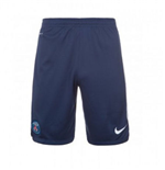 2015-2016 PSG Nike Longer Knit Shorts (Navy)