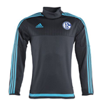 2015-2016 Schalke Adidas Training Top (Grey)