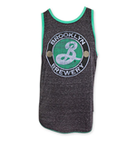 BROOKLYN BREWERY Green Trim Tank Top
