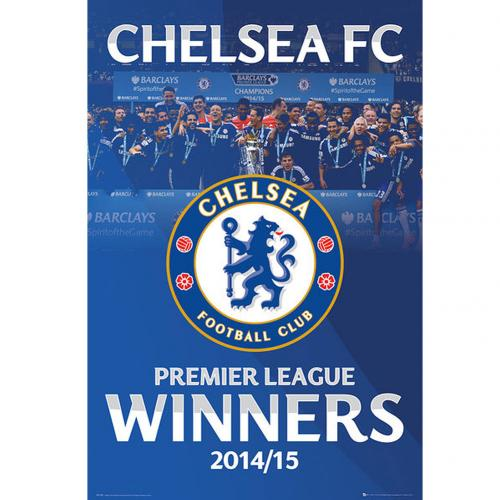 Chelsea F.C. Poster Champions 107