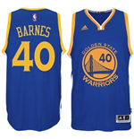 Mens Harrison Barnes Golden State Warriors adidas Royal Blue New Swingman Road Jersey