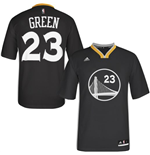 adidas Draymond Green Golden State Warriors Swingman Slate Sleeved Jersey