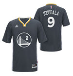 adidas Andre Iguodala Golden State Warriors Swingman Slate Sleeved Jersey