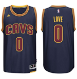 Mens Cleveland Cavaliers Kevin Love adidas Navy Blue New Swingman CavFanatic Jersey