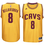 Mens Cleveland Cavaliers Matthew Dellavedova adidas Gold New Swingman Alternate Jersey