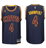 Mens Cleveland Cavaliers Iman Shumpert adidas Navy Blue New Swingman CavFanatic Jersey