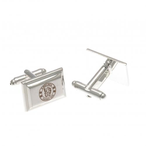 Chelsea F.C. Silver Plated Cufflinks