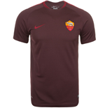 2015-2016 AS Roma Nike Training Shirt (Mahogany)