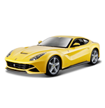 Bburago - Ferrari F12 Berlinetta 1:24 Diecast Model (Red or Yellow)