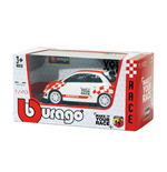 Diecast Model Bburago - Abarth 500 Make It Your Race 1:43