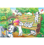 One Hundred and One Dalmatians Puzzles - 150 Pieces