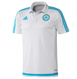2015-2016 Marseille Adidas Polo Shirt (White)