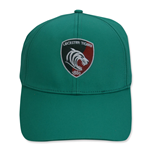 2014-2015 Leicester Tigers Cotton Drill Cap (Green)
