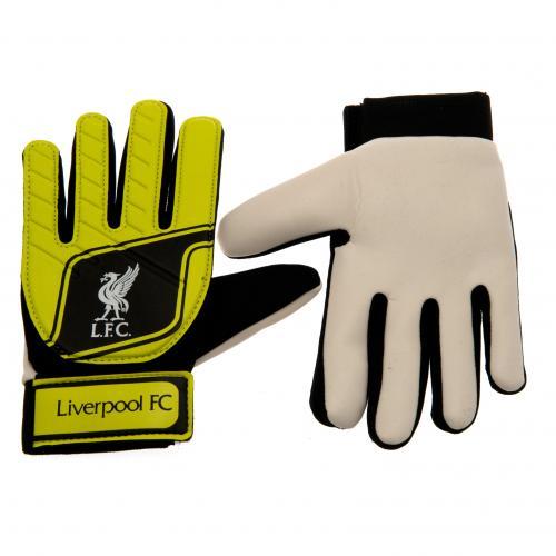 Liverpool F.C. Goalkeeper Gloves Fluo Yths