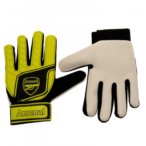 Arsenal F.C. Goalkeeper Gloves Fluo Yths