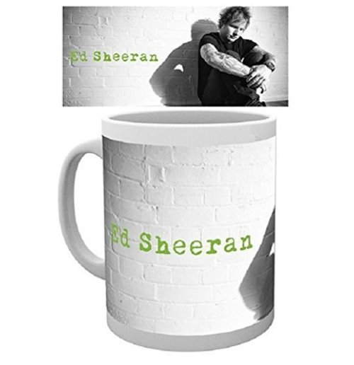 Ed Sheeran Mug - Green