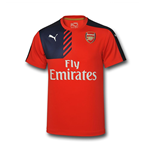 2015-2016 Arsenal Puma Training Shirt (Red)