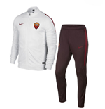 2015-2016 AS Roma Nike Knit Tracksuit (White)