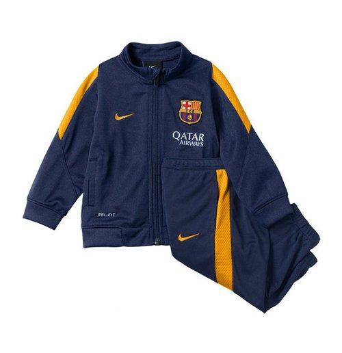 Buy Official 2015-2016 Barcelona Nike Baby Tracksuit (Navy) - Infants 6675490ebcc