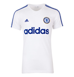 2015-2016 Chelsea Adidas Graphic Tee INS (White)