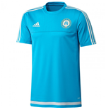 2015-2016 Marseille Adidas Training Shirt (Blue)