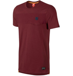2015-2016 Barcelona Nike Covert Pocket Tee (Red)