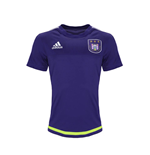 2015-2016 Anderlecht Adidas Training Shirt (Purple) - Kids