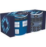 Doctor Who Mini Mugs 2-Pack