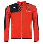 2015-2016 Arsenal Puma Woven Jacket (Red)