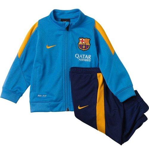 Buy Official 2015-2016 Barcelona Nike Baby Tracksuit (Blue) - Infants d4ebd15eaba