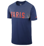 2015-2016 PSG Nike Core Plus Match Tee (Navy)