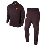 2015-2016 AS Roma Nike Knit Tracksuit (Mahogany)