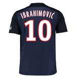2015-16 PSG Home Shirt (Ibrahimovic 10) - Kids
