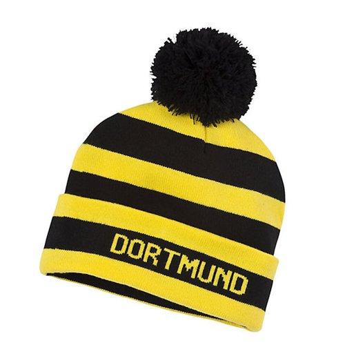 Buy 2015-2016 Borussia Dortmund Puma Bobble Hat (Black-Yellow) 6bf5cfe3eea