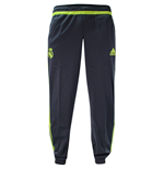 2015-2016 Real Madrid Adidas Sweat Pants (Grey)