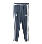 2015-2016 Real Madrid Adidas Training Pants (Grey-White)