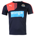2015-2016 Newcastle Puma Training Shirt (Peacot)