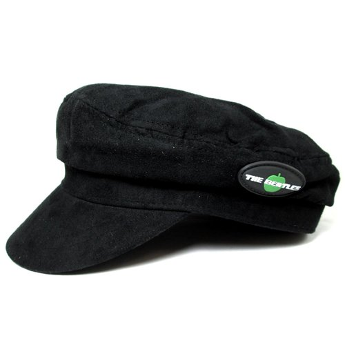 Moleskin Hat Black With Badge: Help : Small