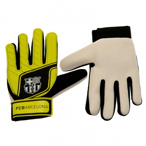 F.C. Barcelona Goalkeeper Gloves Fluo Yths
